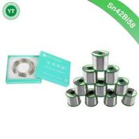 Buy cheap YunFang Tin Factory Lead Free Solder Wire Sn42Bi58 with Rosin Core for Electrical Soldering from wholesalers
