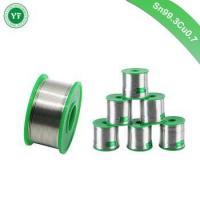 Buy cheap YunFang Tin Factory Lead Free Solder Wire Sn99.3Cu0.7 with Rosin Core for Electrical Soldering from wholesalers