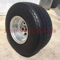Flat free PU foam wheel 6.50-8