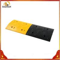 China Yellow Toll Station Rubber Speed Breaker on sale