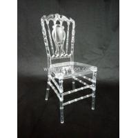 Buy cheap high quality good price hot sale stackable acrylic chair 4pcs/carton from wholesalers