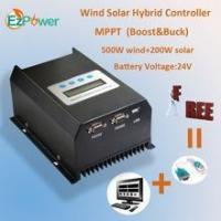 800W 24V MPPT wind solar hybird charge controller