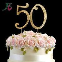 Buy cheap Mr & Mrs Wedding Cake Topper Person Bride & Groom Glitter sliver Acrylic Cake Topper Event & Party from wholesalers