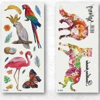 Fashional Factory Kids Water Transfer Temporary CMYK Tattoo Sticker