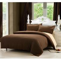 Buy cheap Bed Linens Pure color cotton sateen bed linens for home from wholesalers