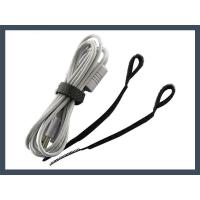 Wholesale Hook and Loop cable tie q type hook and loop cable tie,black from china suppliers