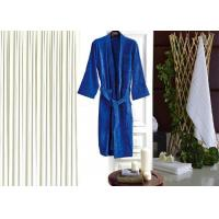Buy cheap Colored Luxury Hotel Patterned Toweling Bath Robe , Womens Luxury Dressing Gown from wholesalers