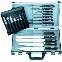 Buy cheap SHIP SUPPLIES Forged chef's set in a magnetic knife case from wholesalers
