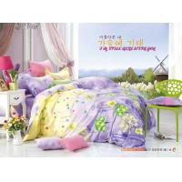 Buy cheap King Size / Twin Size Four Piece Cotton Bedding Sets Reactive Printing from wholesalers