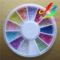 Buy cheap 3D glitter nail sticker Nail Sticker from wholesalers