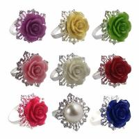 Buy cheap Aluminum foil induction sealing wads Flower Napkin Rings from wholesalers