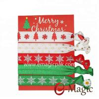 Buy cheap HBT-04 Best Manufacture Holiday Christmas Girls Gift Winter Hair Ties from wholesalers