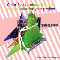 China China 6.38mm 8.38mm Clear or Colored tempered Laminated Glass price for Building on sale