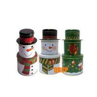 Wholesale Santa Claus design tin box from china suppliers