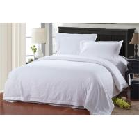 Buy cheap Hotle Bed Linen 100% Cotton White Color Hotel Bedding Sets for Hotel/ Motel/ Hospital/ School Dom from wholesalers
