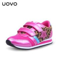 Buy cheap UOVO Newest spring and autumn Leopard pink children girls shoes big kids fashion shoes from wholesalers