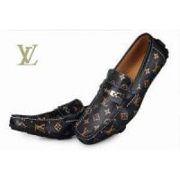 Buy cheap LV Shoes FASHION Men shoes 1:1 top CASUAL LEATHER SHOES loafers come with Box from wholesalers