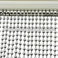 Buy cheap Hanging Steel Metal Bead Curtains from wholesalers