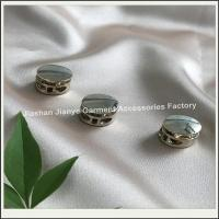 Buy cheap Metal Alloy Round Rope String Spring Stopper Buckle For Lanyards from wholesalers
