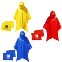 Buy cheap Summer promotional items Adult Rain Poncho from wholesalers