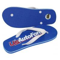 Buy cheap Summer promotional items Flip flops with bottle opener from wholesalers