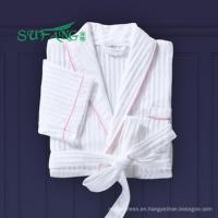 Buy cheap Hotel linen/Luxury 100% cotton waffle/tery cloth/velour bathrobe hotel from wholesalers