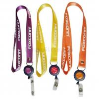 Buy cheap Nylon Lanyard With Badge Reel & Yo Yo from wholesalers