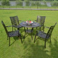 Buy cheap Outdoor Dining Cast Aluminum Patio Sets Item No.: PL-0042 from wholesalers