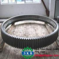 China Customized Steel Wheel Ring Gear with High Precision on sale