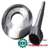 Buy cheap Engineering Machinery Ratio 6 33 Spiral bevel gears from wholesalers