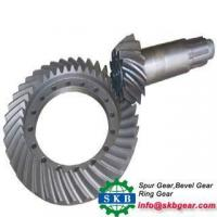 Buy cheap Casting Translation Spiral Bevel Gear from wholesalers