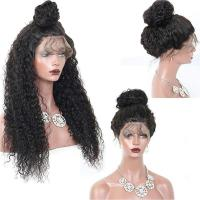 Buy cheap Most Popular Remy Hair 360 Curly Hair Full Lace Wig Natural Color from wholesalers