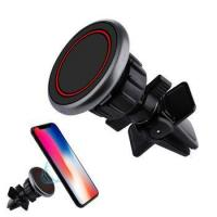 Magnetic Mini Air Vent Car Mount Holder Cradle Universal Car phone Holder Strong