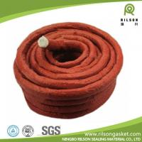 Buy cheap Silicon Rubber Coated Glass Fiber Rope from wholesalers