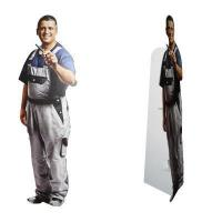 Buy cheap Custom Stand up Cardboard Cutouts from wholesalers