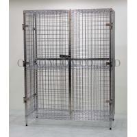 Buy cheap Durable Bright Chrome Wire Rack Security trolley unit from wholesalers