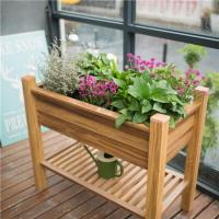 Buy cheap Wood Grain Building Planter Boxes from wholesalers