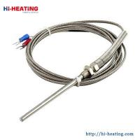 Buy cheap K/J/E/PT100 Grounded Screw Thermocouple 0-600C Temperature Measurement Senors Probe 2M from wholesalers