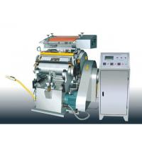 Buy cheap die cutting and creasing machine manual hot foil stamping machine from wholesalers