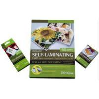 Buy cheap Laminating Self-laminating pouch film from wholesalers