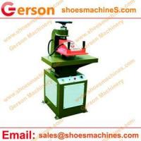 Buy cheap Leather cutting machine PU Leather Jotter Note Pad/Cover Cutting Machine from wholesalers