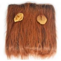 Buy cheap Funny animal wig Lion headgear pet accessories decoration from wholesalers