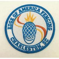 Wholesale Custom sew on embroidery badges for clothing from china suppliers