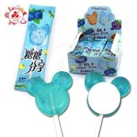 China Mickey Lollipop Sobitol Fruit Hard Candy 2 in 1 on sale