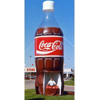 China Inflatable Bottle of Coca-cola on sale