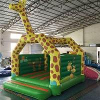 Buy cheap Giraffe Inflatable Castle from wholesalers