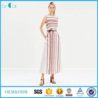 Buy cheap Long Striped Maxi Dress from wholesalers