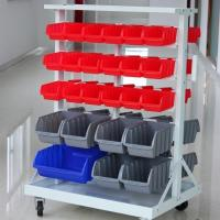 Mobile Bin Storage with Caster
