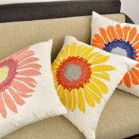 Wholesale Embroidery Sunflower Of Cushion Cover from china suppliers