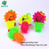 Buy cheap Sun Doll Glowing Whistle Massage Toy Ball from wholesalers
